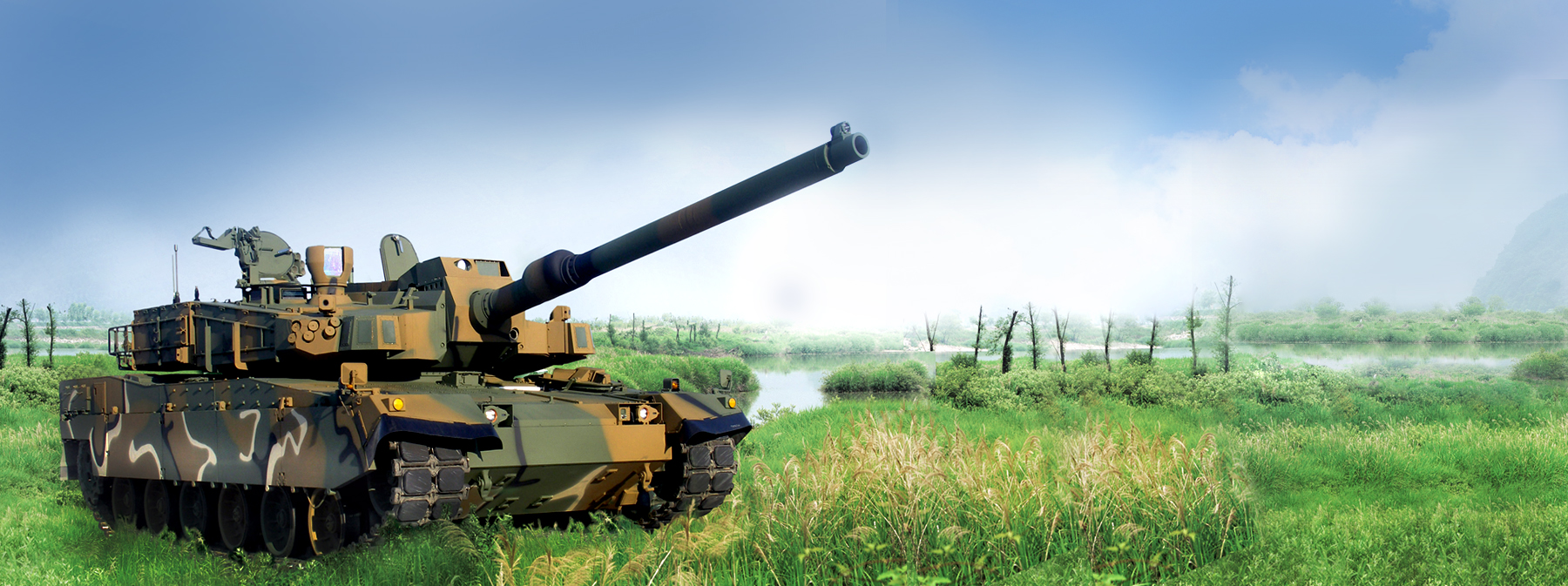 LS Mtron's special defense products are used in various combat vehicles
